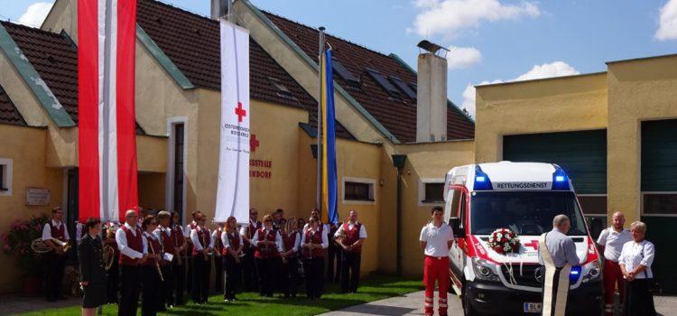 Frühschoppen beim Rot Kreuz Fest in Götzendorf